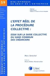 Leffet réel de la procédure collective : Essai sur la saisie collective du gage commun des créanciers.pdf