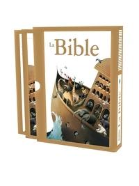 Marc Sevin et Anne-Sophie Du Bouëtiez - La Bible - 2 volumes : L'Ancien Testament ; Le Nouveau Testament.