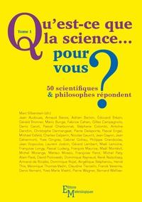 Alixetmika.fr Qu'est-ce que la science... pour vous ? 50 scientifiques & philosophes répondent - Tome 1 Image