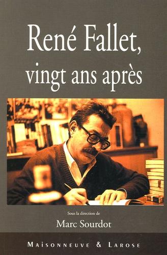 Marc Sourdot - René Fallet - Vingt ans après.