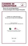 Marc Van Campenhoudt et Nathalie Lemaire - Traduire aux confins du lexique : les nouveaux terrains de la terminologie - Essai sociolinguistique.