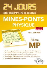 Marc Venturi - Physique - Concours Mines-ponts, filière MP.