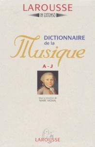 Marc Vignal et  Collectif - Dictionnaire de la musique.