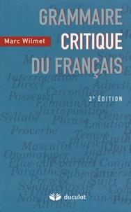 Deedr.fr Grammaire critique du français Image