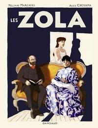 Marcaggi Méliane et Chemama Alice - Les Zola - tome 0 - Les Zola.