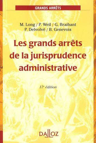 Les grands arrêts de la jurisprudence administrative 17e édition