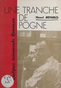 Marcel Armand - Une tranche de pogne - Quelques événements romanais.
