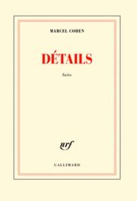 Marcel Cohen - Détails - Faits.