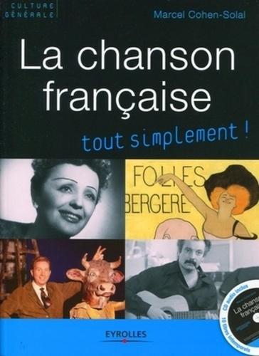 Marcel Cohen-Solal - La chanson française. 1 CD audio