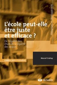 Lécole peut-elle être juste et efficace ? - De légalité des chances à légalité des acquis.pdf
