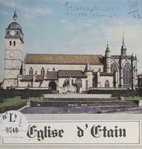Marcel Delangle et  Rouyer - L'église d'Étain.