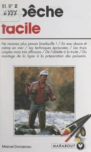 Marcel Donzenac et Dominique Petter - La pêche facile.
