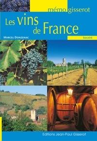 Marcel Donzenac - Les Vins de France.