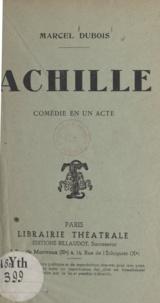 Marcel Dubois - Achille.