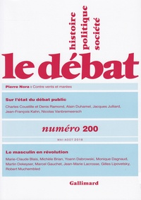 Marcel Gauchet - Le Débat N° 200, mai-août 201 : .