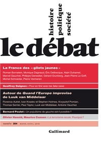 Marcel Gauchet - Le Débat N° 204, mars-avril 2 : .