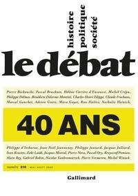 Marcel Gauchet - Le Débat N° 210, mai-août 202 : .