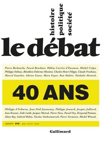 Le Débat N° 210, mai-août 202 - Format ePub - 9782072901928 - 16,99 €