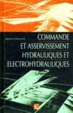 Marcel Guillon - Commande et asservissement hydrauliques et électrohydrauliques.