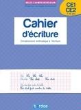 Marcel Guyonnet - Cahier d'écriture CE1-CE2 7-9 ans - Entraînement méthodique à l'écriture.