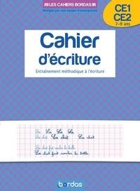 Marcel Guyonnet - Cahier d'écriture CE1-CE2 - Entraînement méthodique à l'écriture.