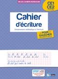 Marcel Guyonnet - Cahier d'écriture pour gauchers avec modèles adaptés CE1-CE2 7-9 ans - Entraînement méthodique à l'écriture.