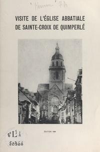 Marcel H. Kervran - Visite de l'église abbatiale de Sainte-Croix de Quimperlé.