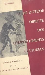 Marcel-Jean Maget - Ethnographie métropolitaine : guide d'étude directe des comportements culturels.