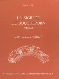 Marcel Lutz - La sigillée de Boucheporn (Moselle) - 32e supplément à Gallia.