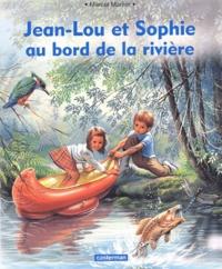 Marcel Marlier - Jean-Lou et Sophie au bord de la rivière.