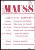 Marcel Mauss - Le bulletin du MAUSS N°10 / 2ème trimestre 1984 : La non-utilité des Femmes.