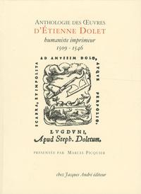 Galabria.be Anthologie des oeuvres d'Etienne Dolet, humaniste-imprimeur (1509-1546) Image