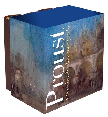 Marcel Proust - A la recherche du temps perdu Intégrale : Coffret en 4 volumes.