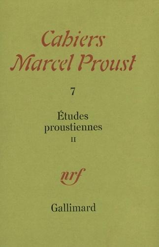 Marcel Proust et René Rancoeur - Cahiers Marcel Proust Tome 7 : Etudes Proustiennes - Volume 2.