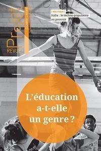 Marcel Rémon - Projet N° 368, février 2019 : L'éducation a-t-elle un genre ?.