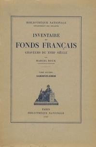 Marcel Roux - Graveurs du XVIIIe siècle - Tome 6, Damontot-Denon.