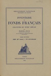 Graveurs du XVIIIe siècle - Tome 7, Deny (Mlle Jeanne) - Du Duy-Delage.pdf