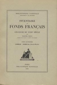 Marcel Roux - Graveurs du XVIIIe siècle - Tome 4, Cathelin - Cochin Père (Charles-Nicolas).