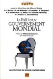 Marcel Ruby - Le pari d'un gouvernement mondial.