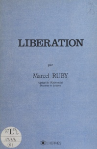 Marcel Ruby - Libération.