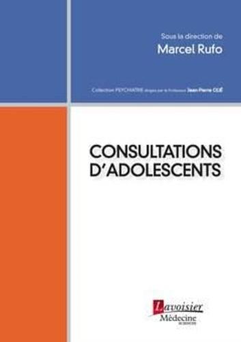 Marcel Rufo - Consultations d'adolescents.