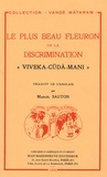 "Marcel Sauton et Cri Camkaracarya - Le plus Beau Fleuron de la Discrimination - ""Viveka-Cuda-Mani""."