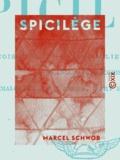 Marcel Schwob - Spicilège - François Villon - Saint Julien l'Hospitalier - Plangôn et Bacchis - Dialogues sur l'amour, l'art et l'anarchie.