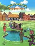 Marcelin Dabo et Joëlle Esso - Mon livre de coloriage Adinkra - L'écriture philosophique Adinkra du peuple Akan (Ghana et Côte d'Ivoire).