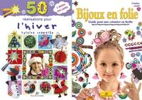 Satt2018.fr Atelier créatif hiver - 50 réalisations pour l'hiver ; Bijoux en folie Image