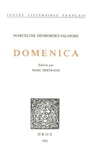 Marceline Desbordes-Valmore - Domenica.