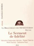 Marceline Desbordes-Valmore et Robert Desnos - Le serment de fidélité - 5 volumes : Comme à ténèbre ; A la mystérieuse ; A la Néante ; Vale atque Ave ; Topographie sentimentale.