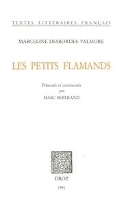 Marceline Desbordes-Valmore - Les Petits Flamands.
