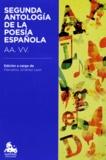 Marcelino Jimenez Leon - Segunda antologia de la poesia española - AA. VV..