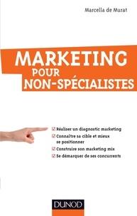 Marcella de Murat - Marketing pour non-spécialistes.